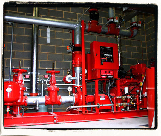 Fire Protection Installation : Fire sprinkler systems contractor protection nj